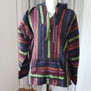 Hooded Panchos Sweater